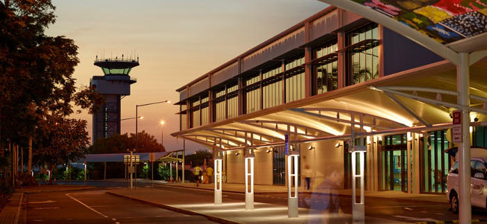 Darwin Airport terminal investment compressed